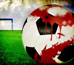 Bloody-Soccer-Ball---ROH