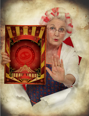 Satellite-Beach-Woman-Circus-Poster-ROH