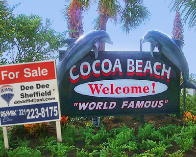 Cocoa-Beach-Dolphin-Sign-For-Sale