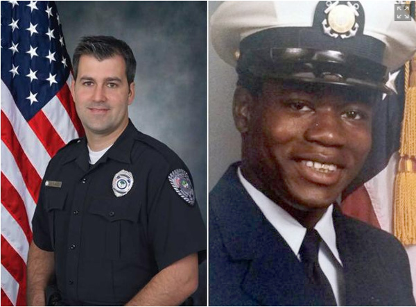 Michael Slager (left) and Walter Scott (right)  Images courtesy of NCPD and USCG.