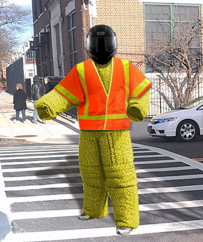 NJYPD Approved Attire for Pedestrians.